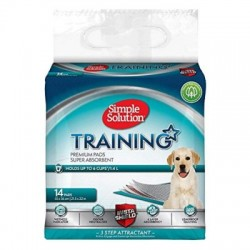 SIMPLE SOLUTION PUPPY TRAINING PADS - MATY TRENINGOWE 55x56 14szt