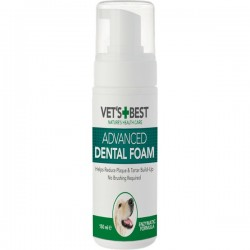 VET'S BEST DENTAL FOAM - PIANKA DLA PSÓW 150ml