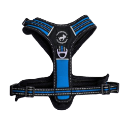 ALL FOR DOGS Szelki 3x-Sport Niebieskie XS